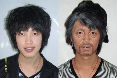 影视化妆中老年妆的画法