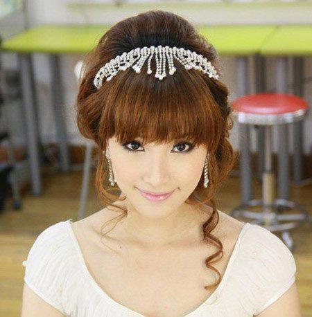 韩式新娘发型图片 超美新娘发型 漂亮韩式新娘妆图片