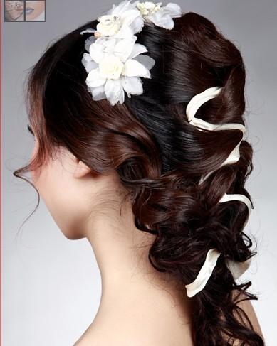韩式新娘发型教程 图文步骤解析