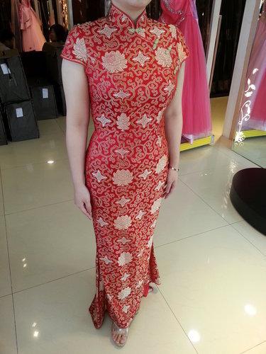 """在婚宴上穿旗袍的新娘,可以分享""""旗袍新娘发型""""吗?"""