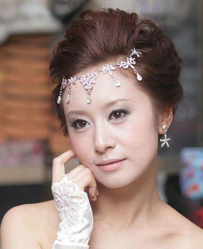 新娘妆造型图片 眼妆造型图片 创意新娘妆面图片
